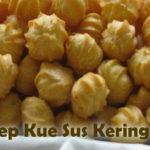 Resep Kue Soes Kering