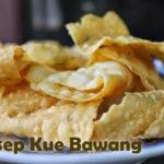 Resep Kue Kering Cheese Stick