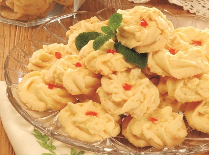 Resep Kue Semprit Vanila cara membuat Kue Semprit