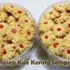 Kue Kering Semprit (5 Resep Kue Semprit Mawar Aneka Rasa)